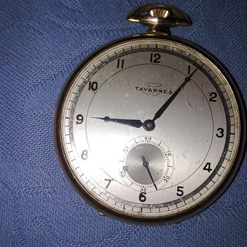 TAVANNES POCKET WATCH - Wristwatches