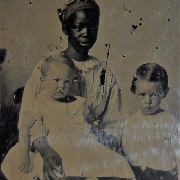 African American Nanny ambrotype