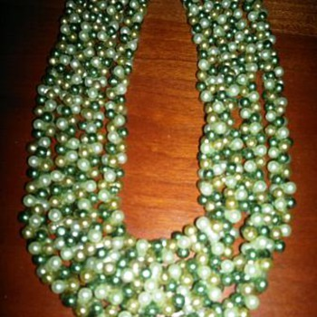 Beaded Necklace from Japan