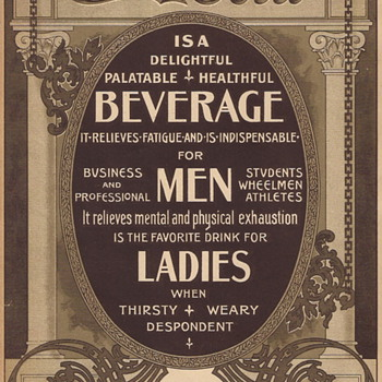 1905 Lillian Nordica Advertising Card with Coupon - Coca-Cola