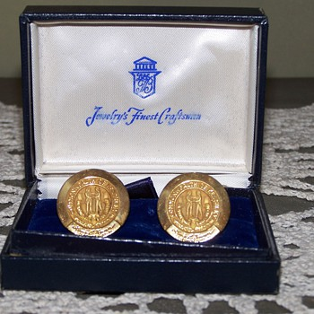 Gov. Louis B. Nunn Cufflinks - Fine Jewelry