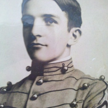 Vintage West Point Cadet-Douglas MacArthur perhaps???
