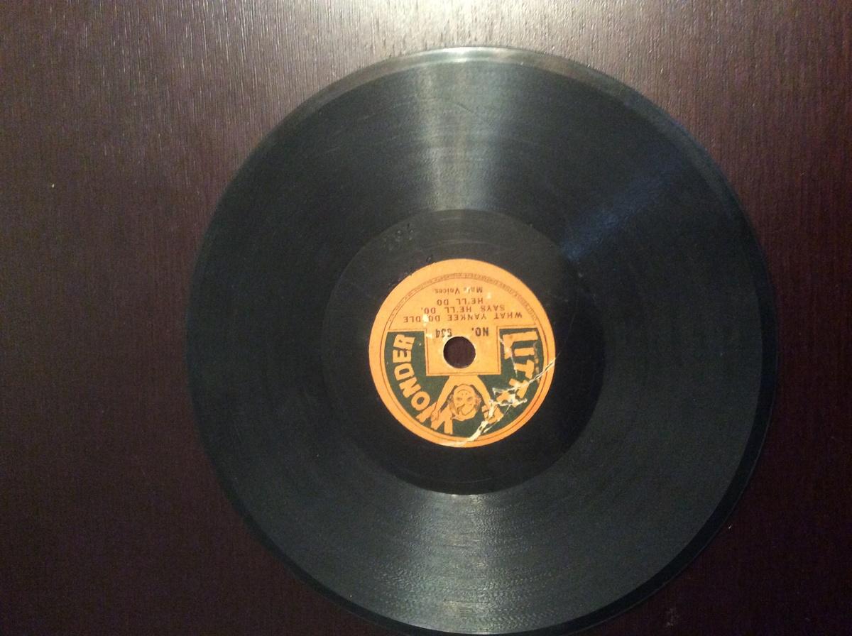 rare vintage vinyl record little wonder 1915 1923 collectors weekly. Black Bedroom Furniture Sets. Home Design Ideas