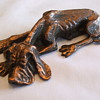 HUDSON Copper POOCH Figurine--Any info. on this Company?