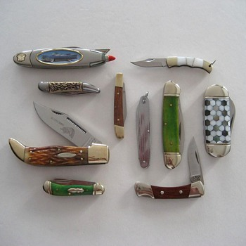 Junk Drawer Pocket Knives