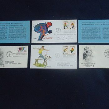 1976OLMPICS  IN LAKE PLACID NY... - Stamps