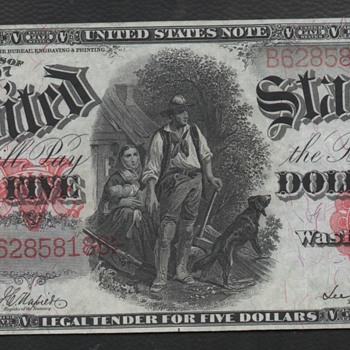 The $5 Woodchopper - US Paper Money
