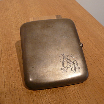 RUSSIAN SILVER CIGARETTE CASE MOSCOW - Sterling Silver