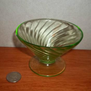 Uranium & Depression Glassware