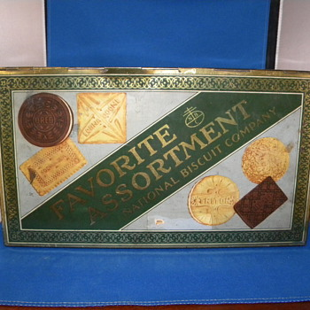 NATIONAL BISCUIT TIN - Advertising