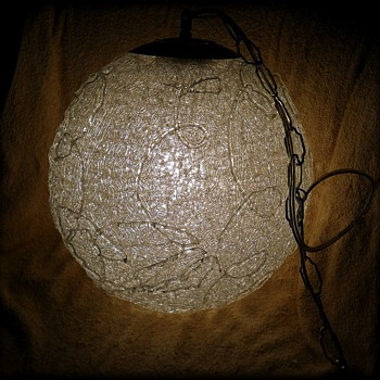 Vintage SPAGETTI hanging Ceiling Light