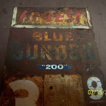 sunoco sign - Petroliana
