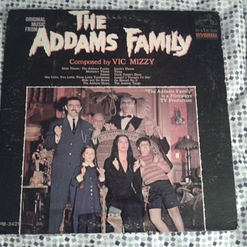 Addams Family original LP 1965  Mono - Records