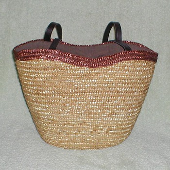 Woven Straw Totebag