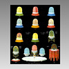 Clarke Fairy Lamps - Color Ads
