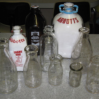 Abbotts Dairy - Bottles