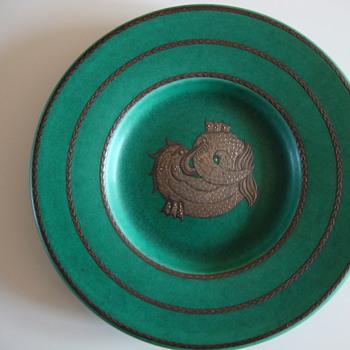 argenta plate by gustavsberg sweden - Art Pottery