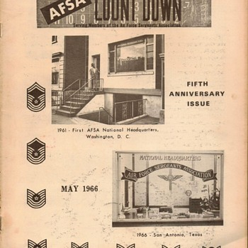"1966 - ""AFSA Countdown"" Newsletter  - Paper"