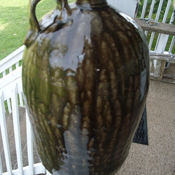Large Heavy jug - Art Pottery