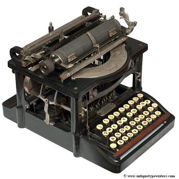 Shimer typewriter - 1898