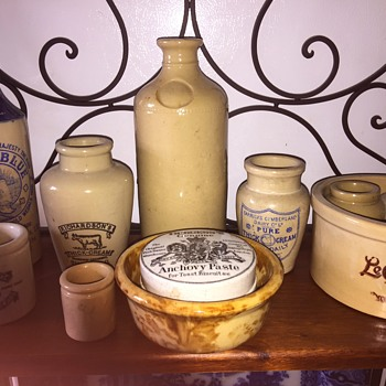 Old pottery collection