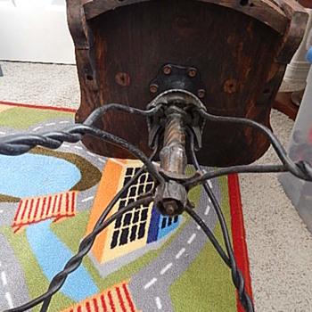Antique desk chair