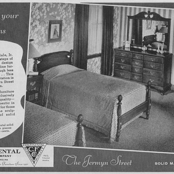 1950 Continental Furniture Advertisements - Advertising