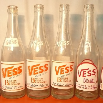 Vess Soda Bottles