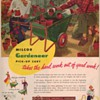 1950 Milcor Garden Cart Advertisement