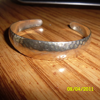B R Sterling Silver Bracelet? When Where was it Made??