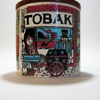 TOBAK JAR-W.GERMANY - Art Pottery