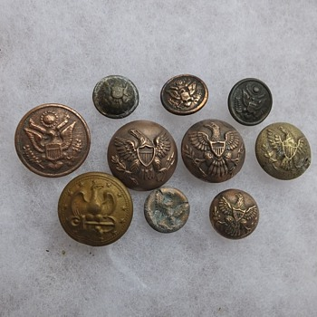 Several more of my metal detector finds. - Military and Wartime