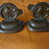 "Bronze ""Ruptured Duck"" Bookends"