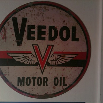 Veedol Motor Oil - Petroliana