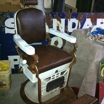 My Hercules barber chair