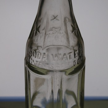 Coca Cola Bottling Co. SODA WATER bottle? - Coca-Cola