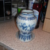 1600's blue and white china dug up