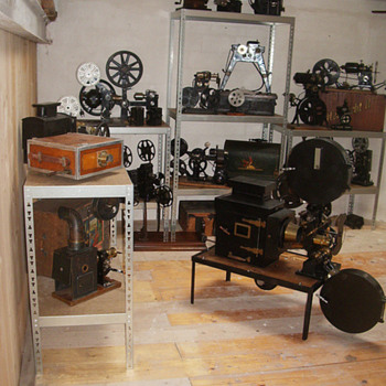 A view of the 'Cinegraphica' collection - Cameras