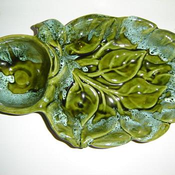 California Pottery Serving Dish - Art Pottery