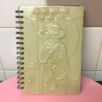 Art Nouveau Rennie Mackintosh image Marble Plaque writing pad