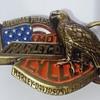 "Harley Davidson Belt Buckle ""AMERICAN FREEDOM"""