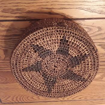 Indian sewing basket
