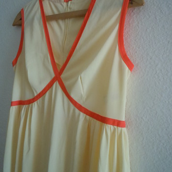 Flair Lingerie Vintage, Yellow and orange - Womens Clothing