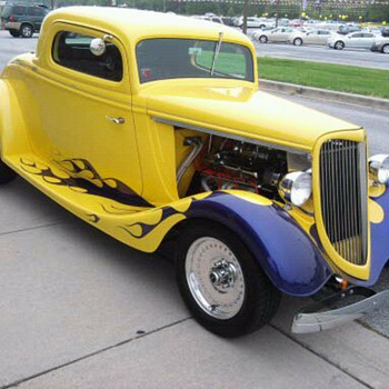Too bad this 34 Ford was a kit car... Beware when purchasing.  They're not always what they appear. - Classic Cars