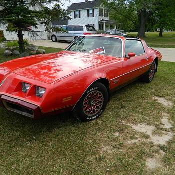 1979 Pontiac Firebird REDBIRD 