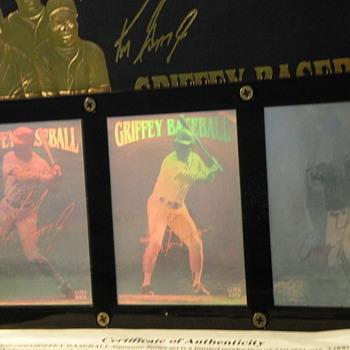 Griffey Baseball Card Memorabilia