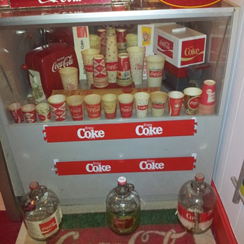 New Display Case - Coca-Cola
