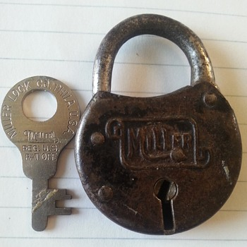 unknown  year of lock