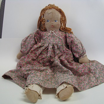 Rag doll? Old or just well loved?
