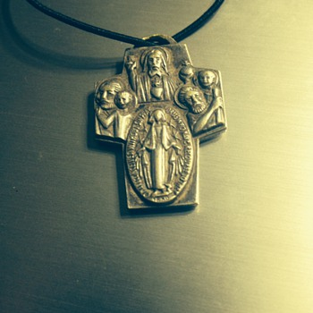 My old 19th century cross necklace - Fine Jewelry